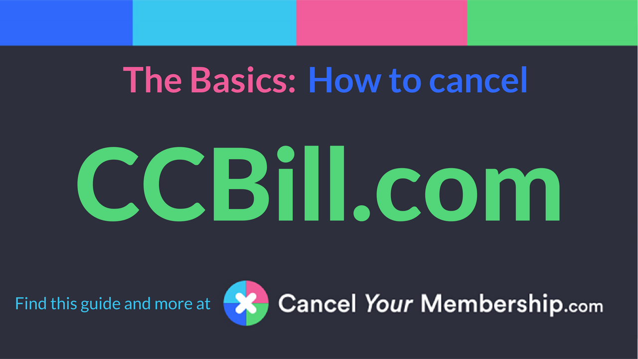 Ccbill cancellation