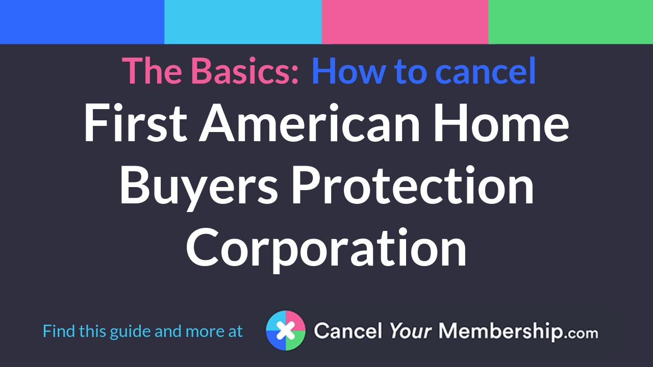 First American Homebuyers Protection Corporation